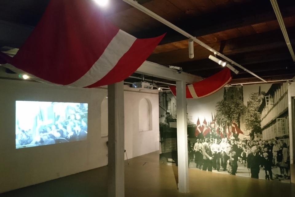 Выставка оккупации Дании в музее Грено, 12 sept. 2020