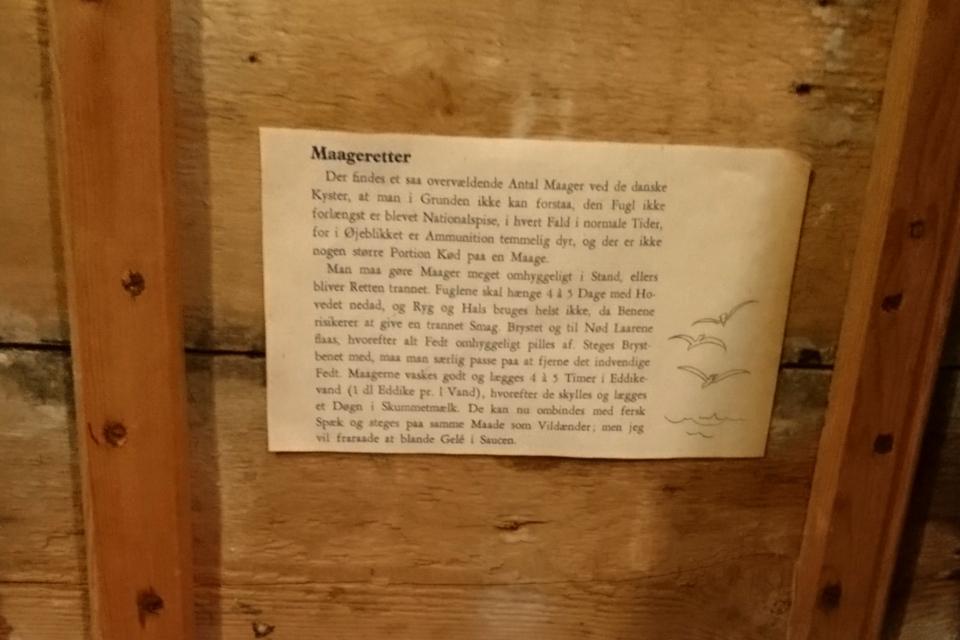 Рецепт из чайки. Выставка оккупации Дании в музее Грено. 12 сент. 2020