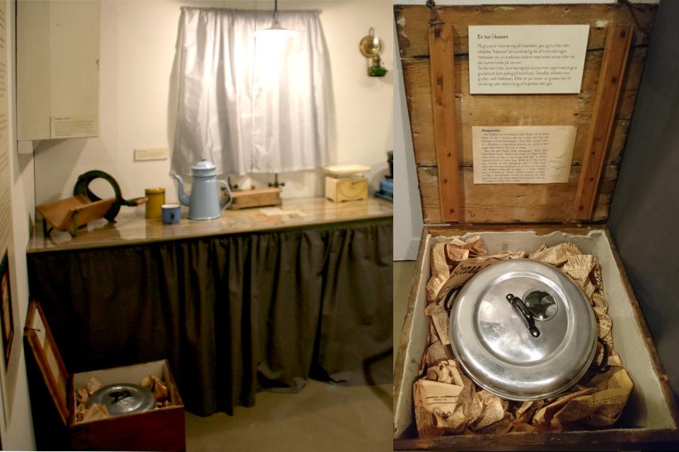 Кухня. Выставка оккупации Дании в музее Грено. 12 сент. 2020