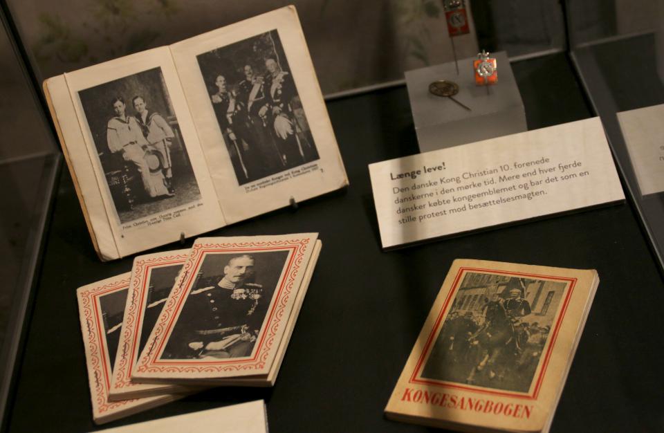 Выставка оккупации Дании в музее Грено. 12 сент. 2020