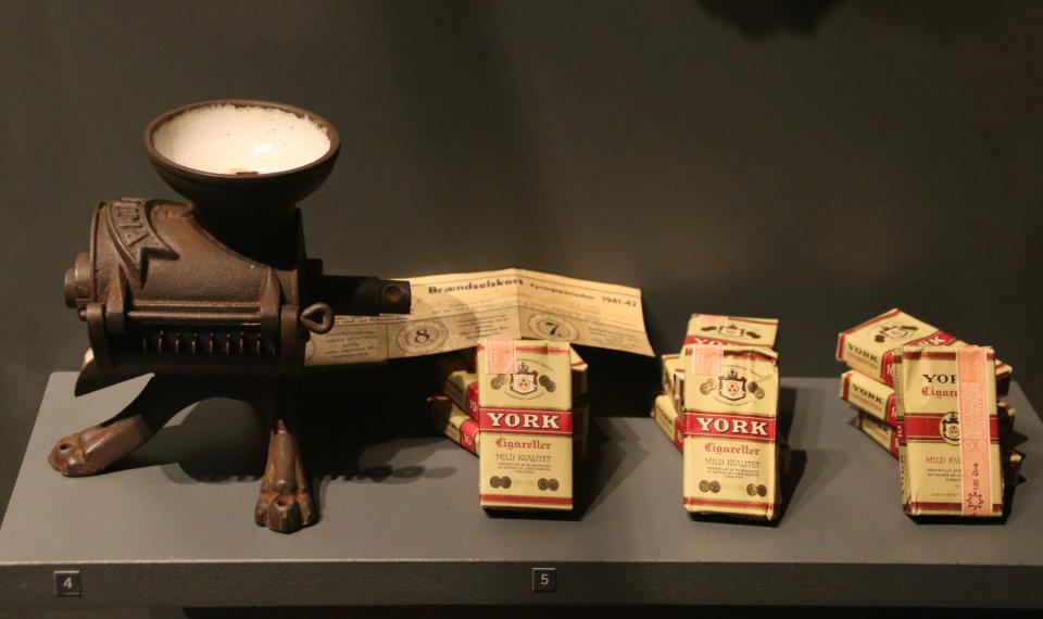 Табак. Выставка оккупации Дании в музее Рандерс, 25 июл. 2019