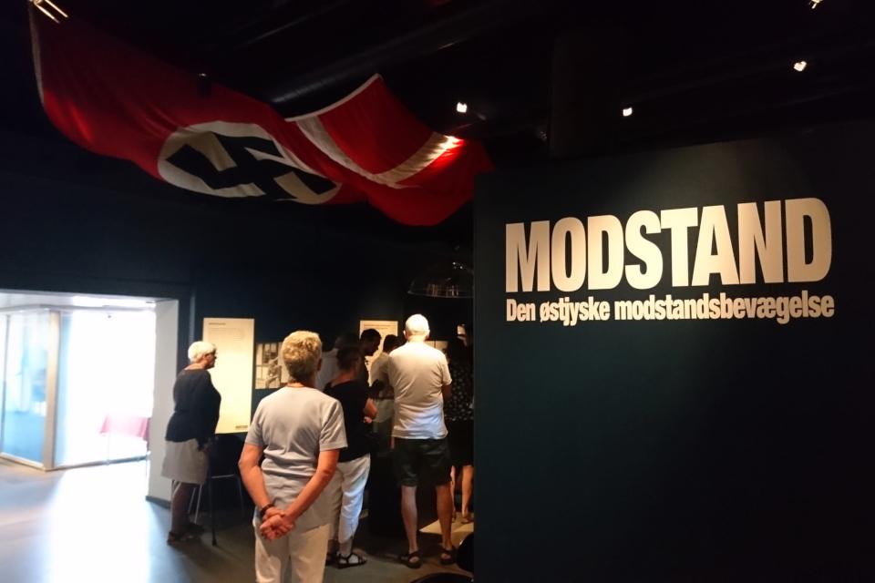 Движение Сопротивления Дании. Выставка оккупации Дании в музее Рандерс, 25 июл. 2019