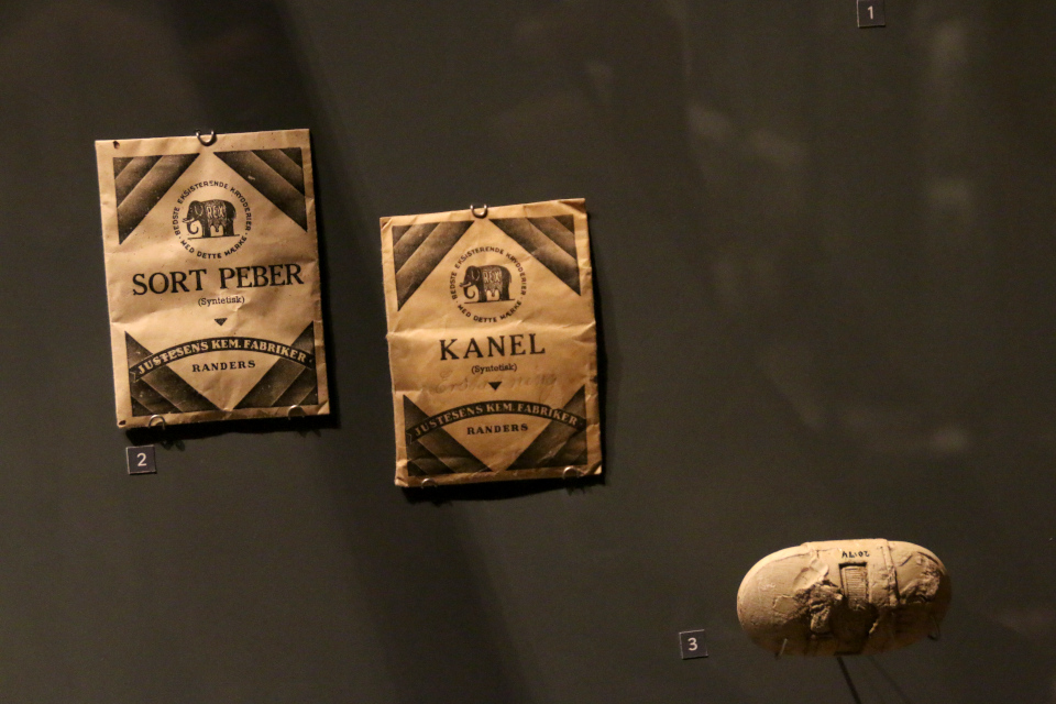 Искусственные специи. Выставка оккупации Дании в музее Рандерс, 25 июл. 2019