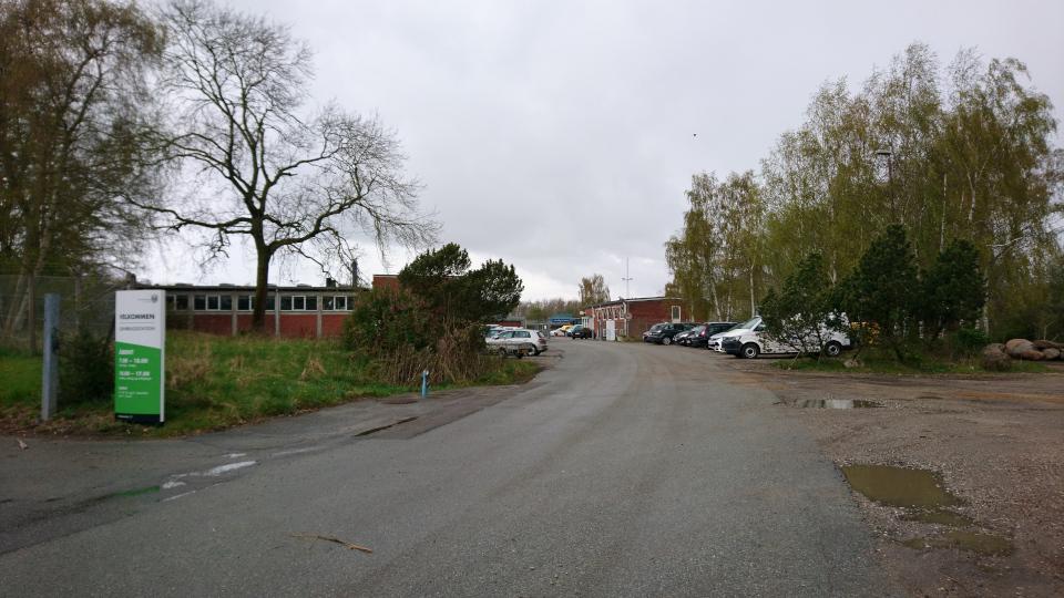 Мусоросортировочный комплекс Эскелунд, Орхус, Дания. 5 мая 202