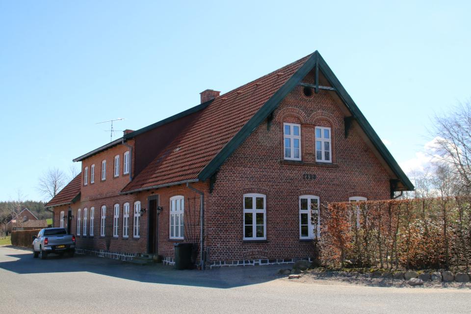 Дом 1878. Поместье Майлгорд (Meilgaard gods). 25 апр. 2021, Глесборг, Дания