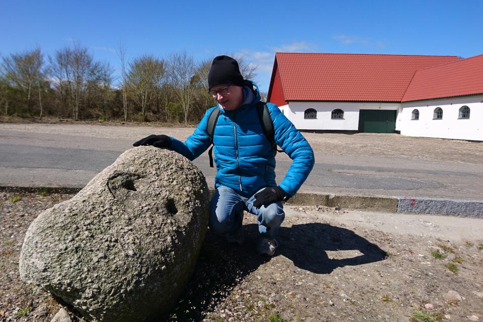 Колотый камень. Поместье Майлгорд (Meilgaard gods). 25 апр. 2021, Глесборг, Дания