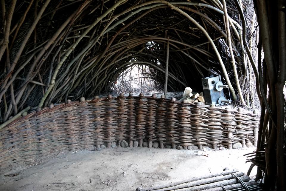 Хижина Мариендаль, Shelter ved Mariendal Strand, Дания. 30 апр. 2021
