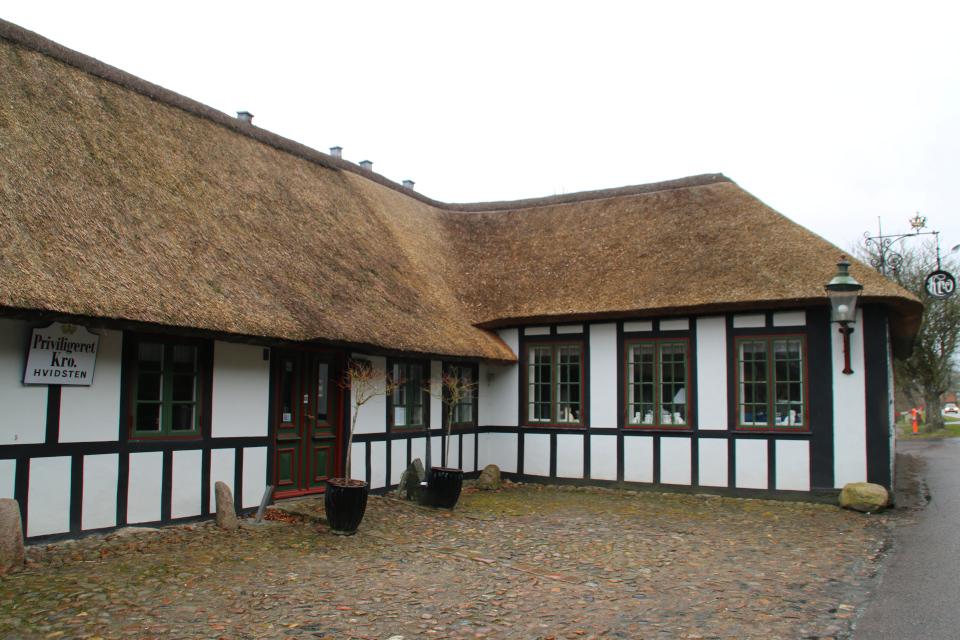 Постоялый двор Видстен (Hvidsten kro), Дания. Фото 28 мар. 2021