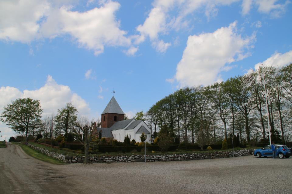 Церковь Скивхольме, Дания, 9 мая 2021