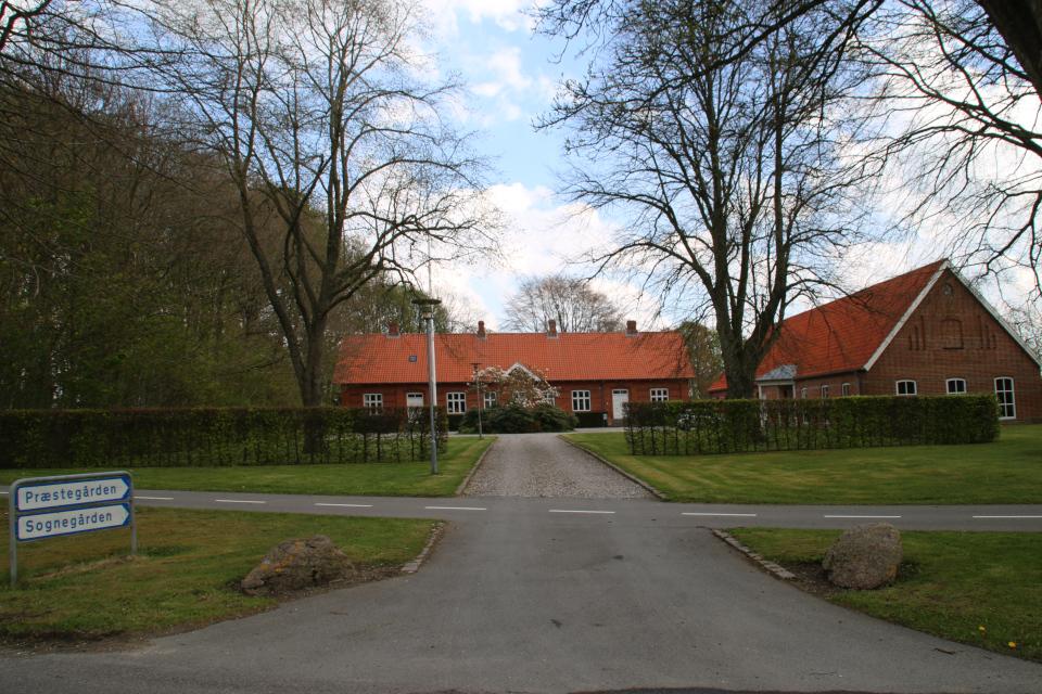 Приходской дом церкви Скивхольме, Дания, 9 мая 2021, Скивхольме, Дания