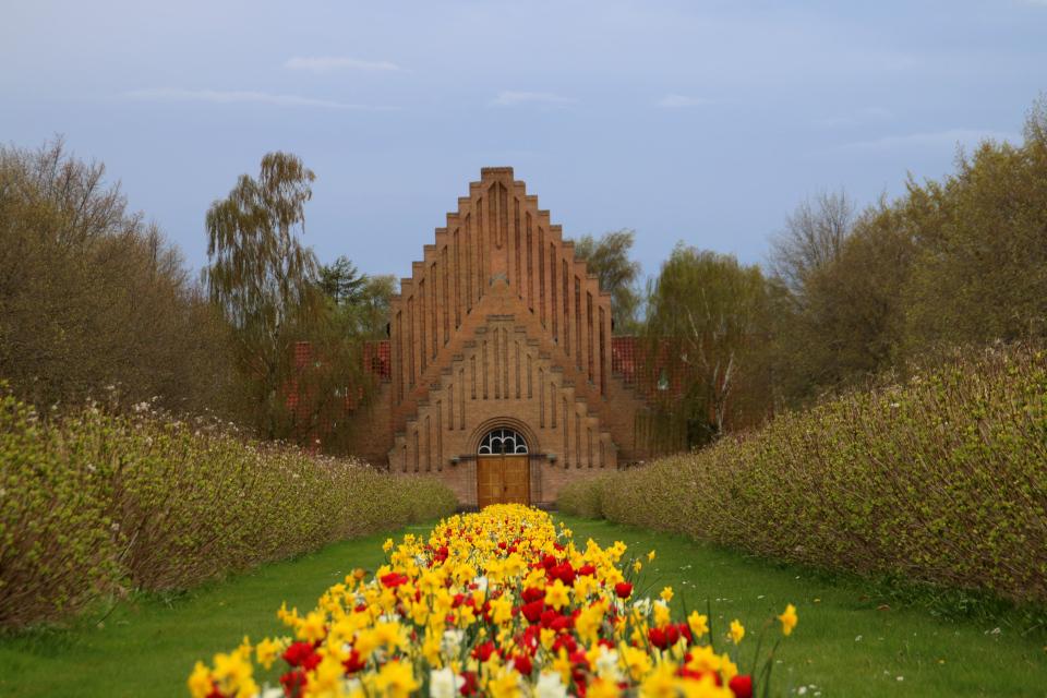 Vestre kirkegård kirke, Aarhus. 9 Мая 2021