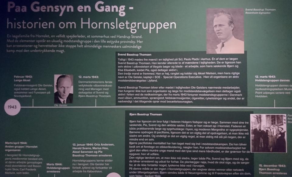 Hornsletgruppen. Grenå museum 12 sept 2020