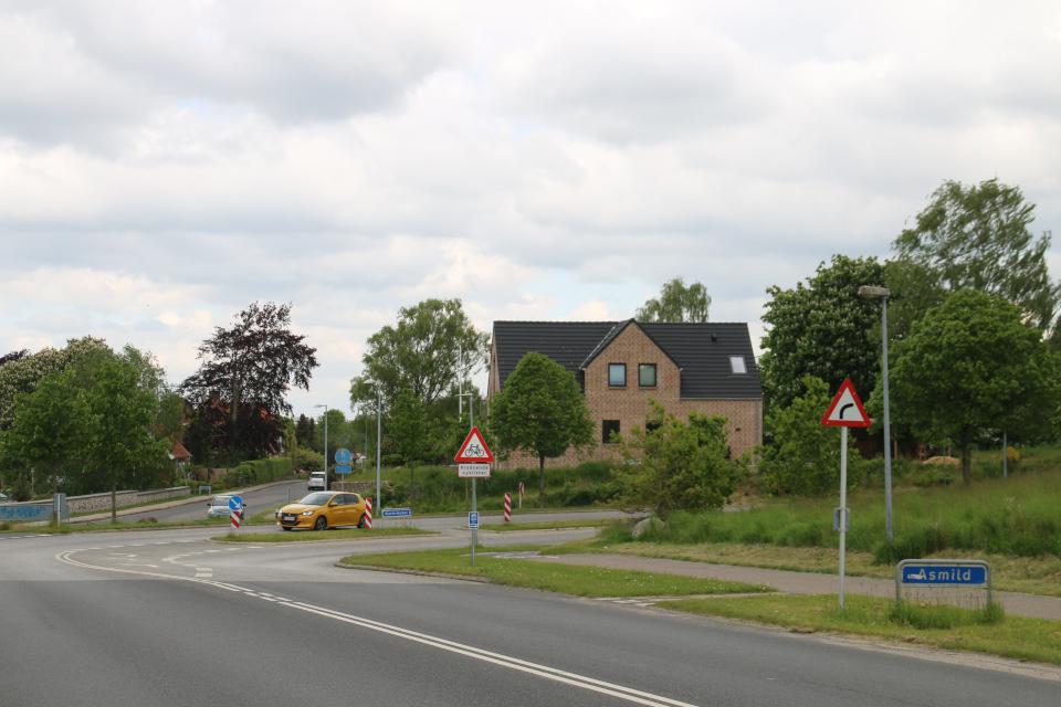 Населенный пункт Асмильд, г. Виборг, Дания. Фото 2 июн. 2021