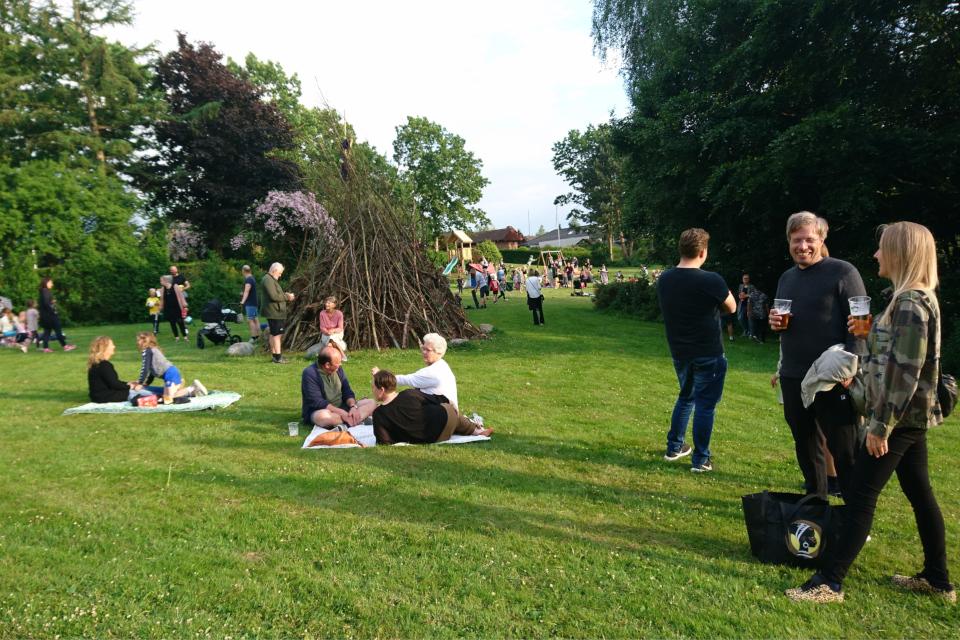 День святого Ханса в Холме, Дания. Sankt Hans i Holme. 23 июн. 2021