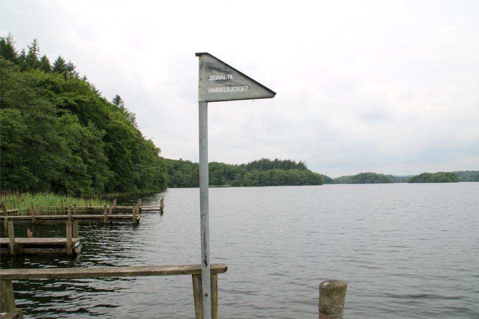 Маршрут химмельбьерг (Himmelbjergruten) Озеро Борре, Borre Sø, Дания. 11 июн. 2021