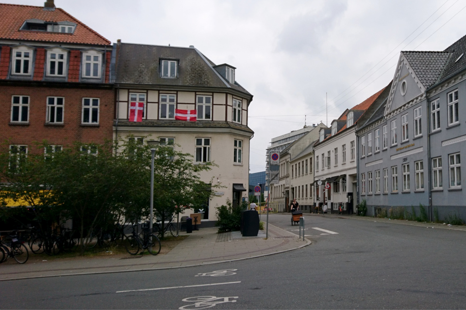 Дания Орхус 26 июня 2021 - до футбольного матча