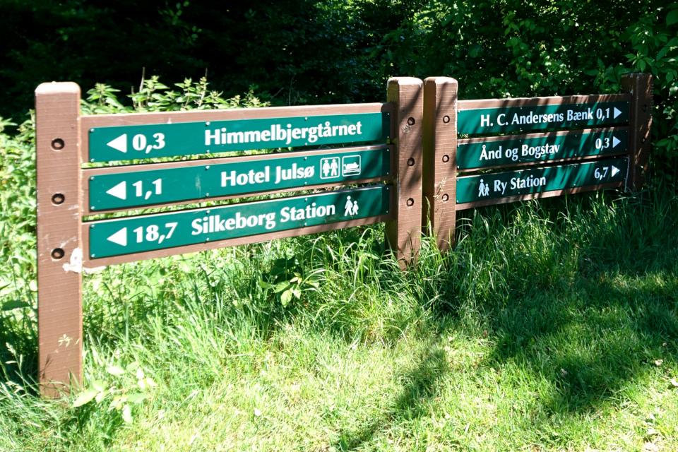 Сёхойланд – горно-озёрный край, Химмельберг (Himmelbjerget), Рю, Дания. 16 июн. 2021
