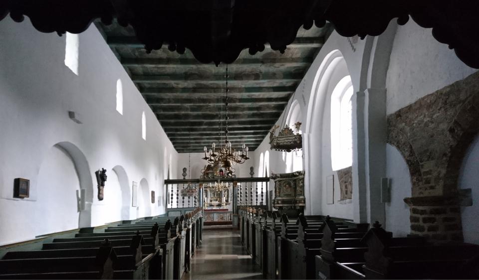 Внутри церкви Асмильд Фото 2 июн. 2021, Виборг, Дания
