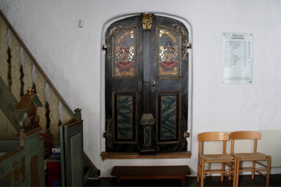 Бывшая часовня семьи Брам. Фото 2 июн. 2021, церковь Асмильд, Виборг, Дания