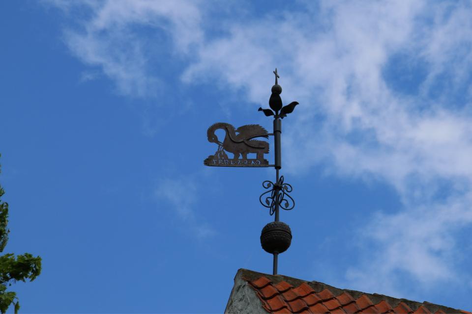 Флюгер церкви Асмильд. Фото 2 июн. 2021, церковь Асмильд, Виборг, Дания