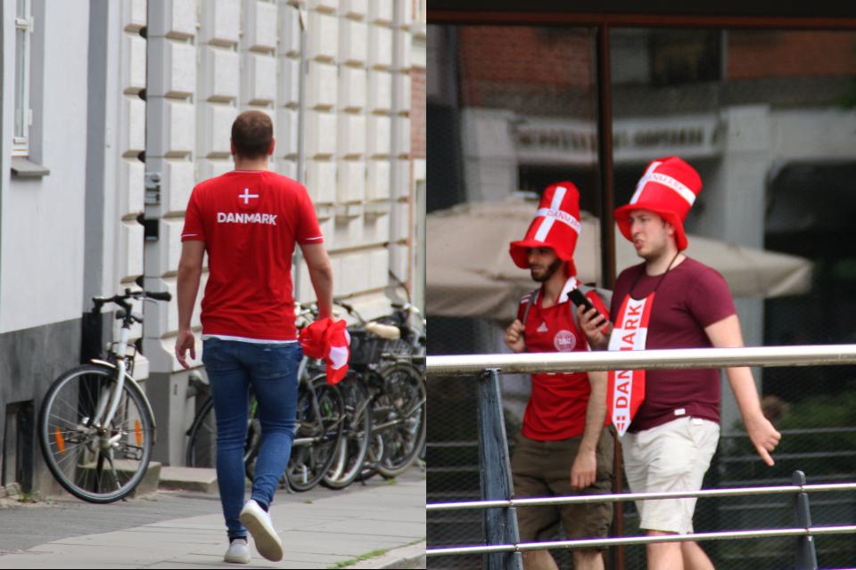 Орхус 26 июня 2021 - до футбольного матча футбол Дания - Уэльс