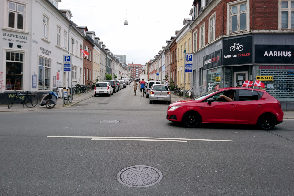 Flag for Danmark. Флаг за Данию. 26 июн 2021