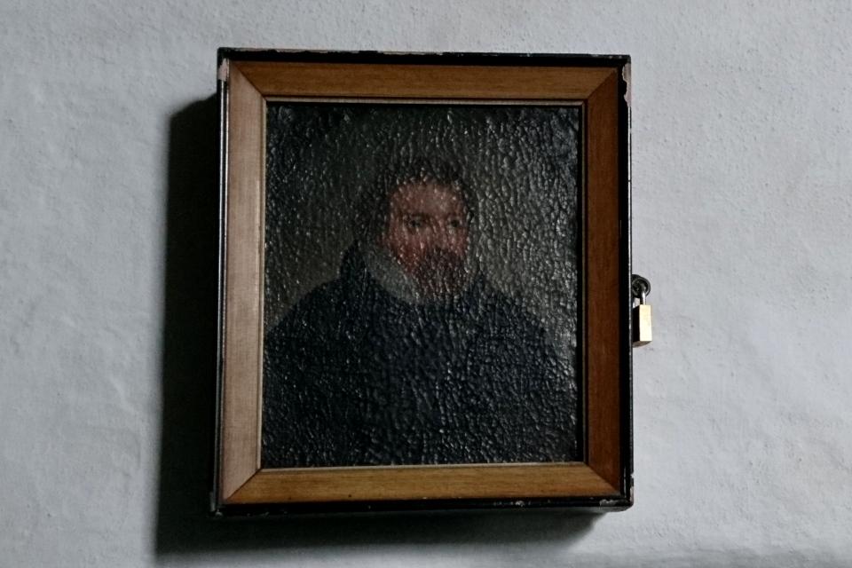 Портрет Ганс Таусен. Фото 2 июн. 2021, церковь Асмильд, Виборг, Дания