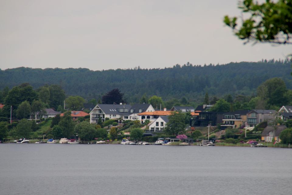 Svejbæk, Озеро Борре, Borre Sø, Дания. 11 июн. 2021