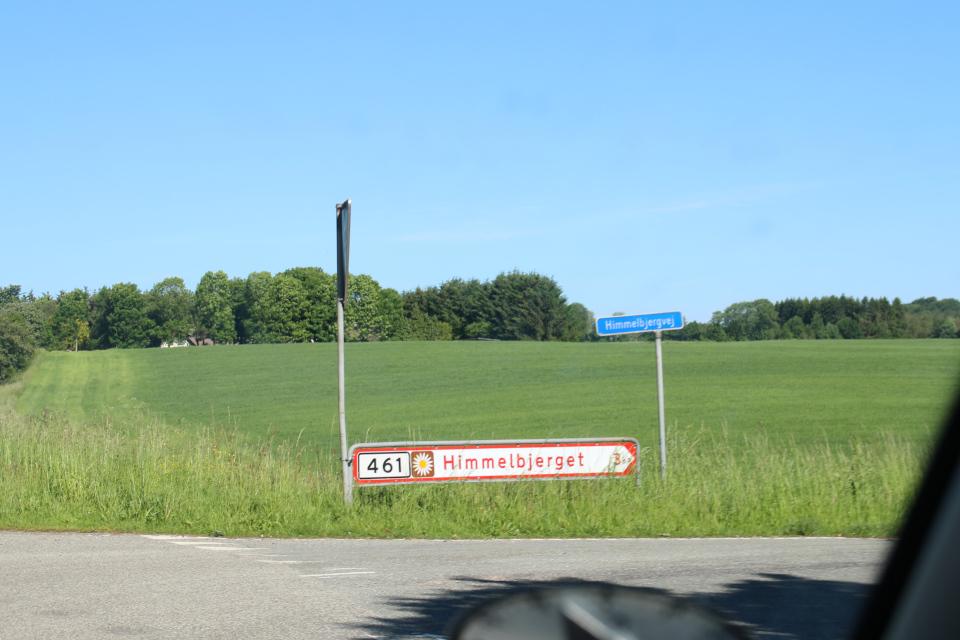 Химмельбьерг, дорога Маргариток, Дания. 16 июля 2021