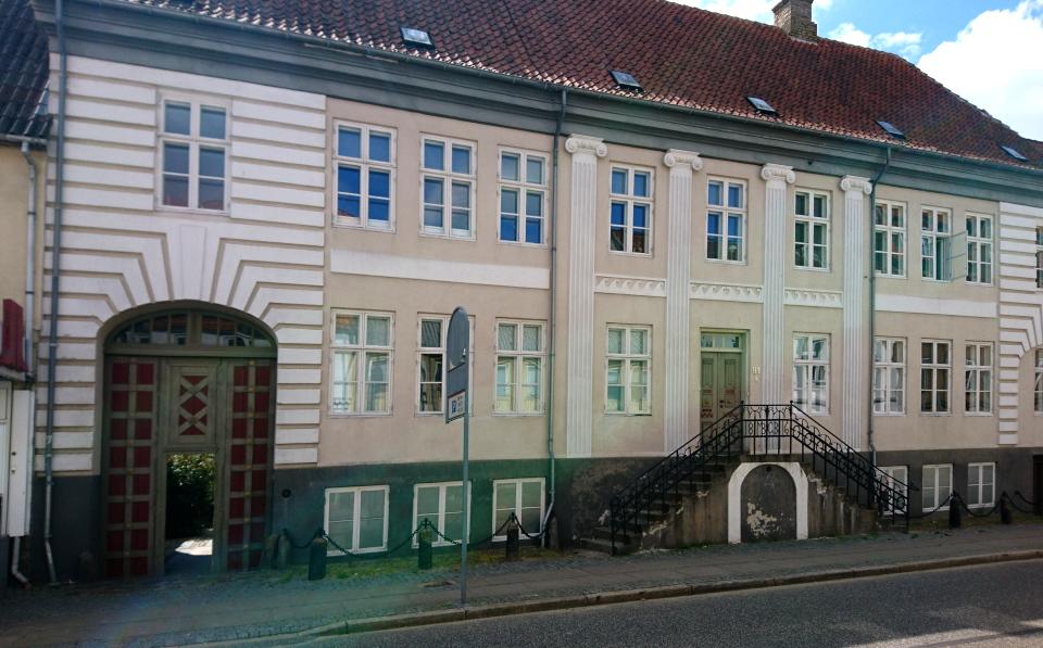 Генеральский дом в Хорсенс (Generalsgården Smedegade 91), Дания. Фото 1 июл. 2021