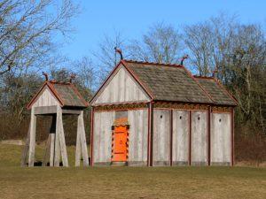 Деревянная церковь викингов Хёрнинг
