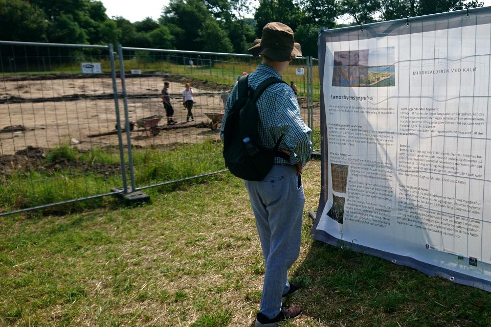 Открытая археология Калё - исчезнувшее поселение, Дания. 14 июл. 2021