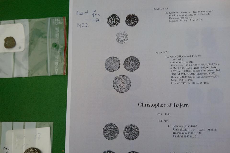 Средневековые монеты. Открытая археология Калё - исчезнувшее поселение, Дания. 14 июл. 2021