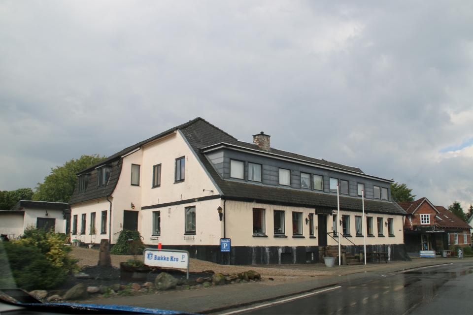 Постоялый двор Бэкке, Bække kro, Дания. 28 июля 2021