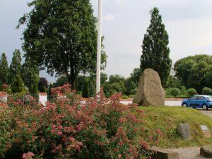 Рунный камень церкви Бэкке