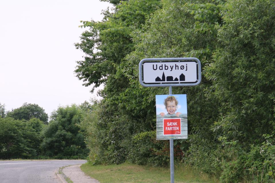 Удбюхой (Udbyhøj, Havndal), Дания. Фото 28 июля 2021
