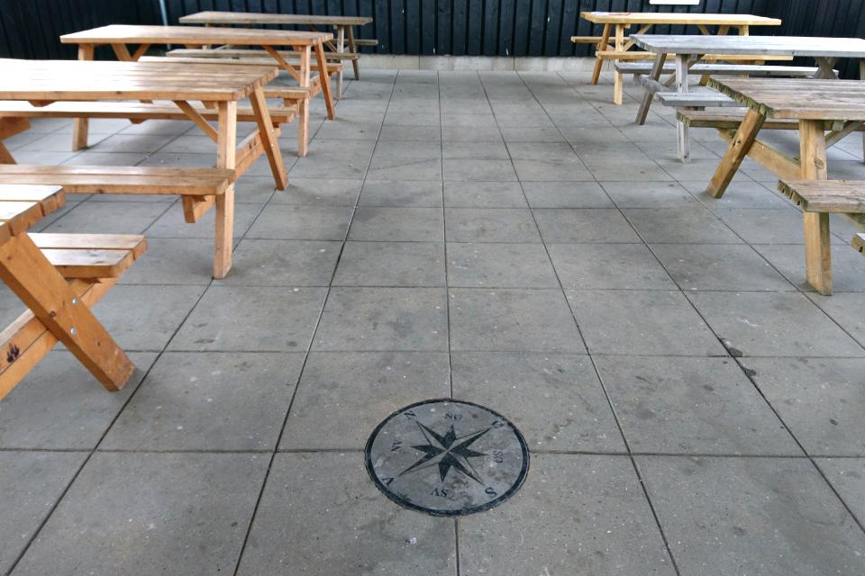 Фьорд Рандерс. Удбюхой (Udbyhøj, Havndal), Дания. Фото 28 июля 2021