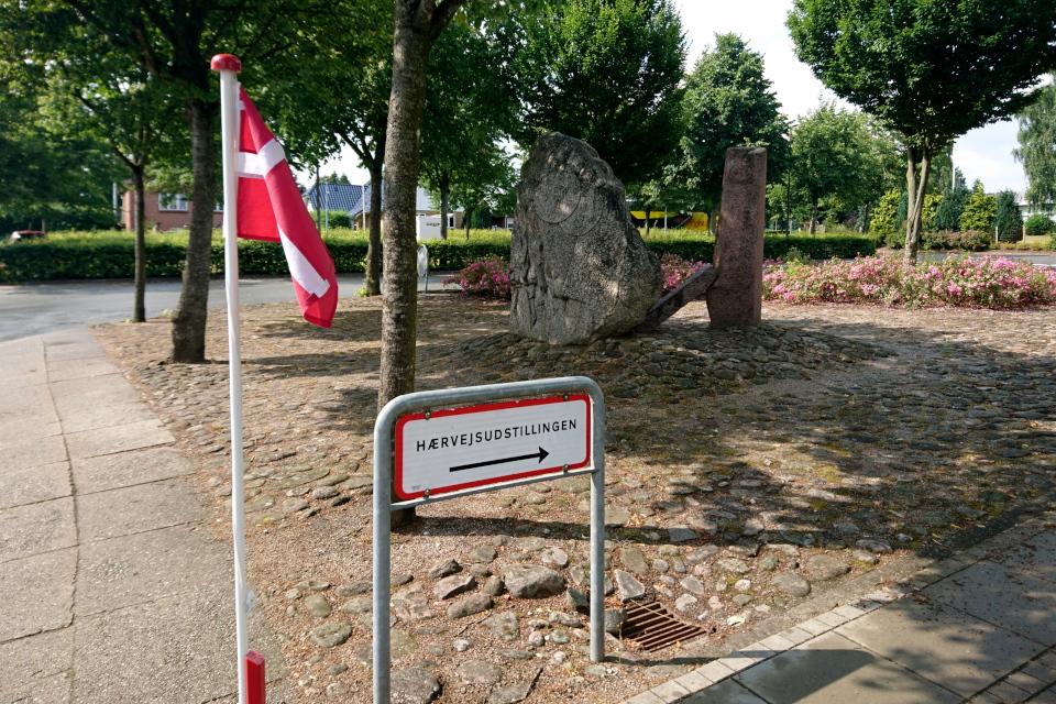 Hærveudstilling. Хэрвайн (Hærvejen), музей г. Бэкке, Дания. Фото 28 июл. 2021