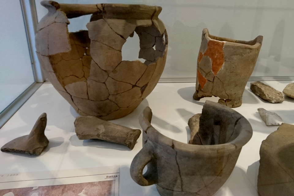 Выставка находок, Хэрвайн (Hærvejen), музей г. Бэкке, Дания. Фото 28 июл. 2021