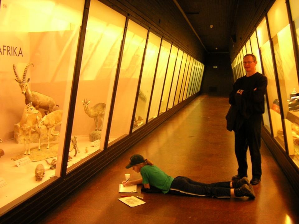 Музей естественной истории Орхус, Дания (Naturhistorisk Museum Aarhus). Фото 17 дек. 2004