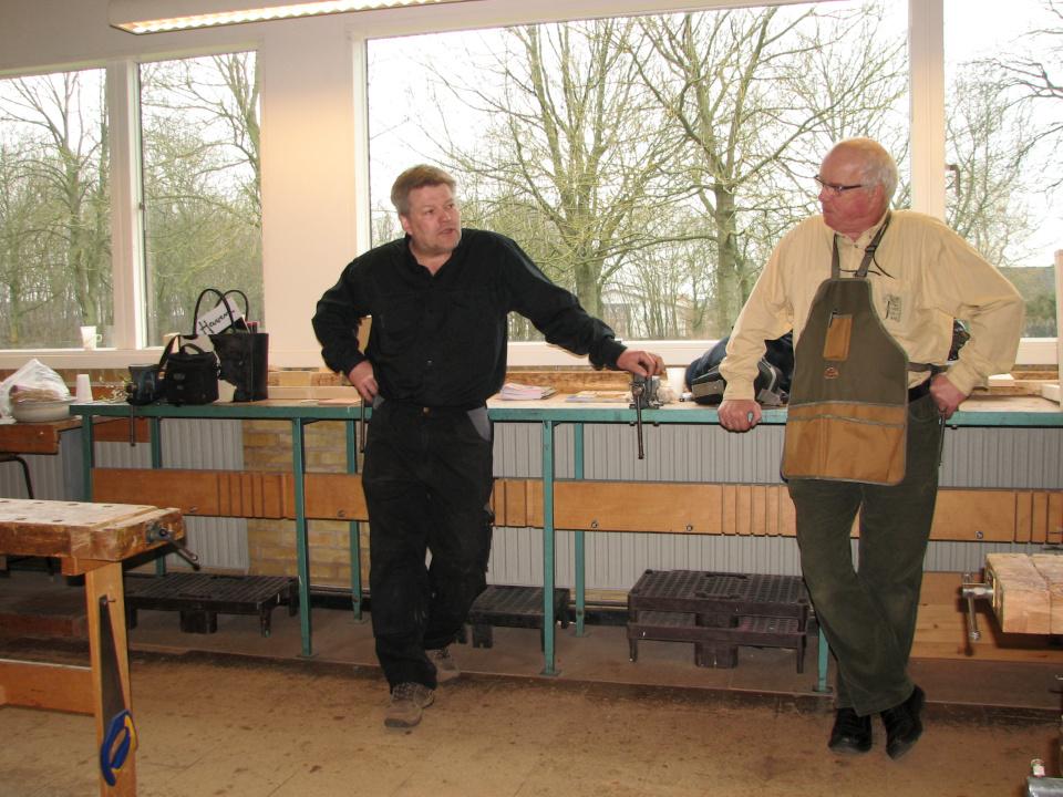 Якоб Юстенсен и Йенс Кёэ, школа Hassellagerskolen, Орхус, Дания. Фото 17 мар. 2012