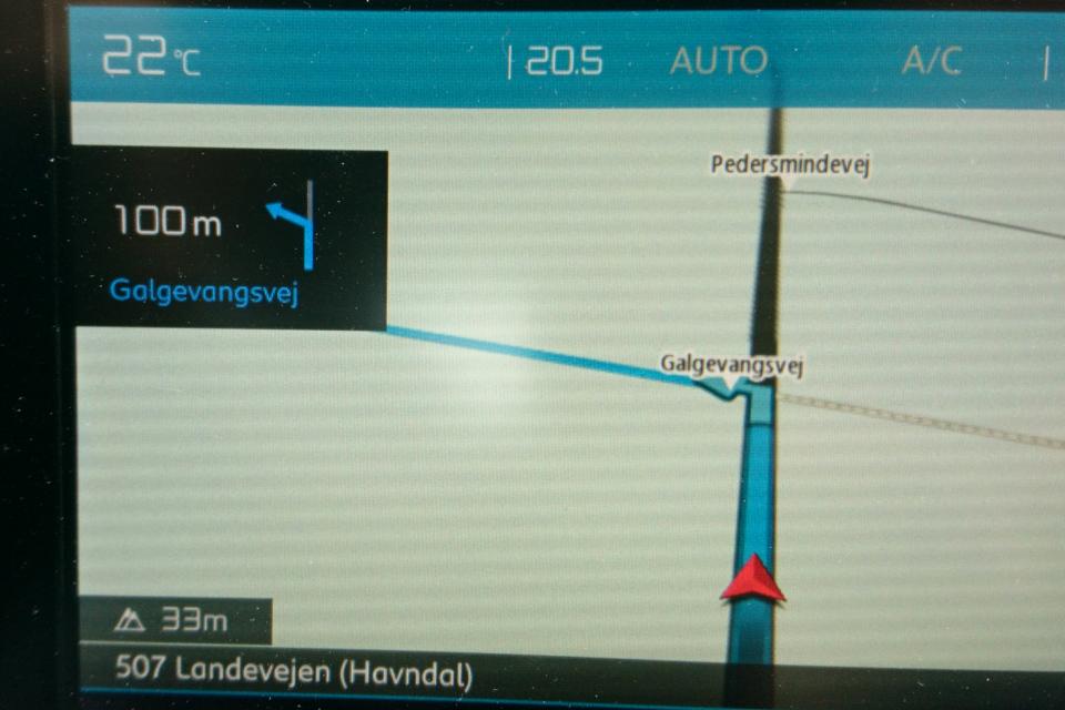 Galgevangvej landevej. Муниципалитет Рандерс, дорога к Удбюхой, Дания. Фото 28 июля 2021