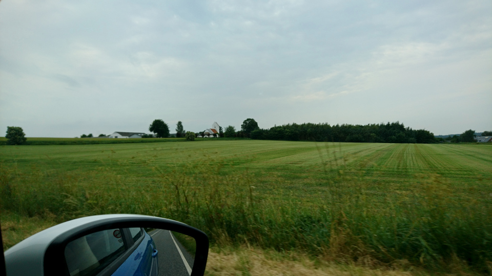 Муниципалитет Рандерс, дорога к Удбюхой, Дания. Фото 28 июля 2021
