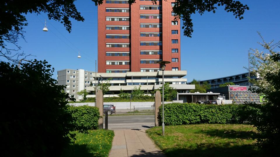 Парк больницы Марселисборг. Фото 15 мая 2018, г. Орхус, Дания