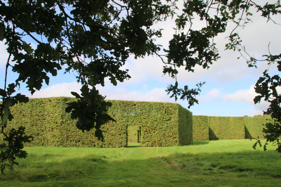 Геометрическе сады в Хернинг (De Geometriske Haver Herning), Дания. Фото 14 сент. 2021