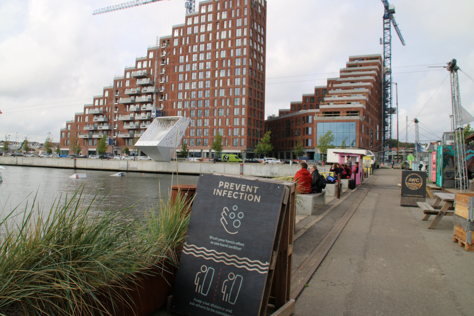 Bassin 7. Орхус Доклендс (Aarhus Ø), Дания 29 сентября 2021