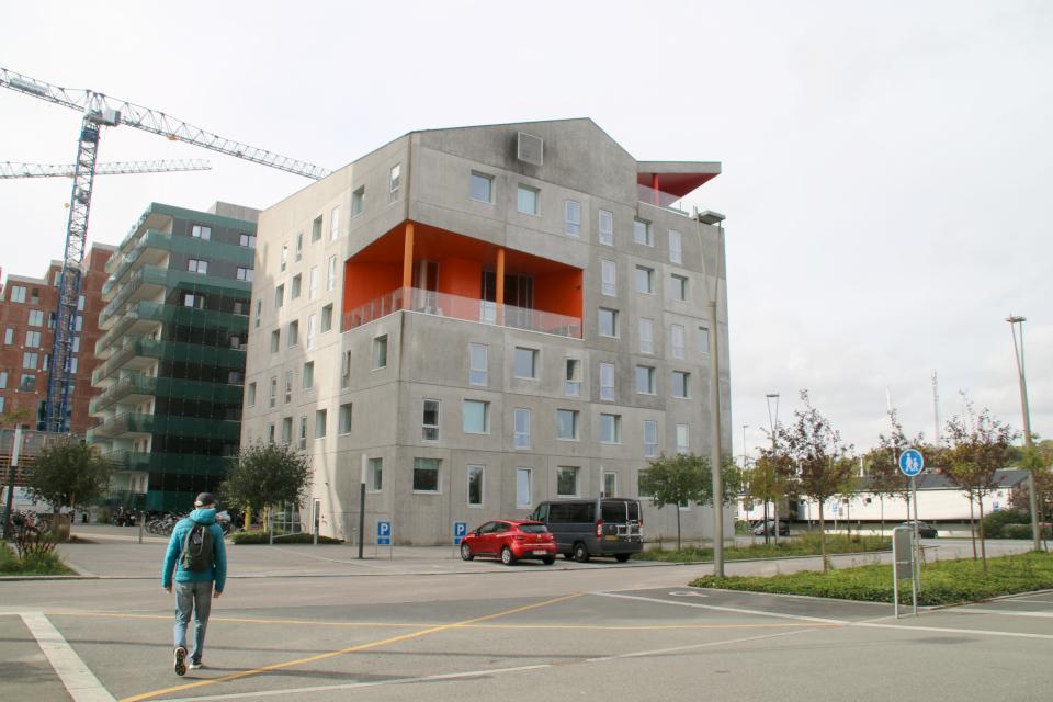 Вулкан. Орхус Доклендс 29 сентября 2021 (Aarhus Ø), Дания