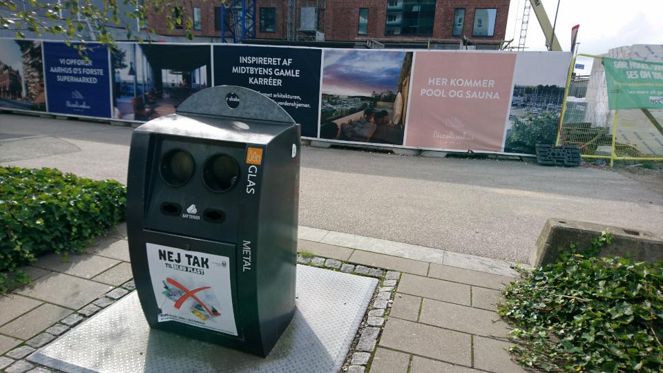 Kampanilen. Орхус Доклендс 29 сентября 2021 (Aarhus Ø), Дания
