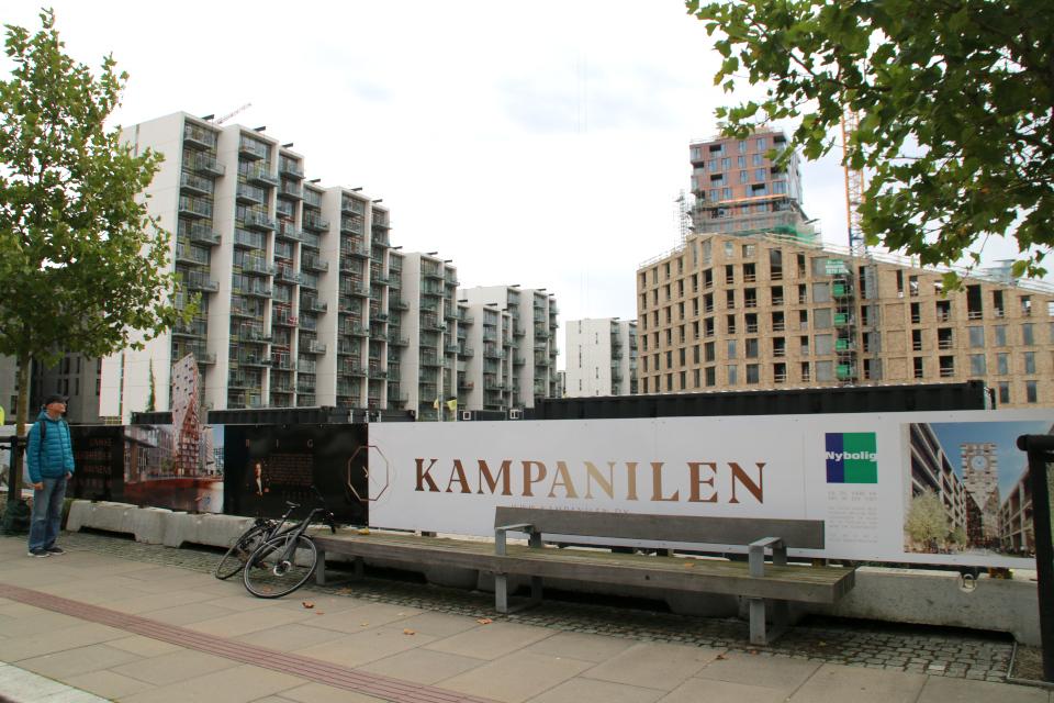 Kampanilen. Орхус Доклендс (Aarhus Ø), Дания 29 сентября 2021