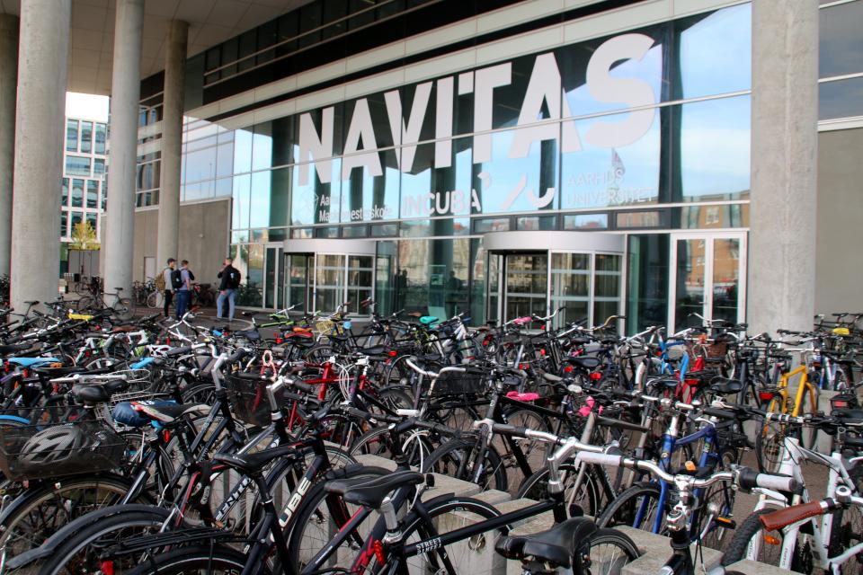 Navitas. Велосипеды. Орхус Доклендс (Aarhus Ø), Дания 29 сентября 2021